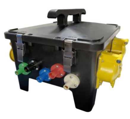 Photo of 150-AMP Black Widow Power Distro Box