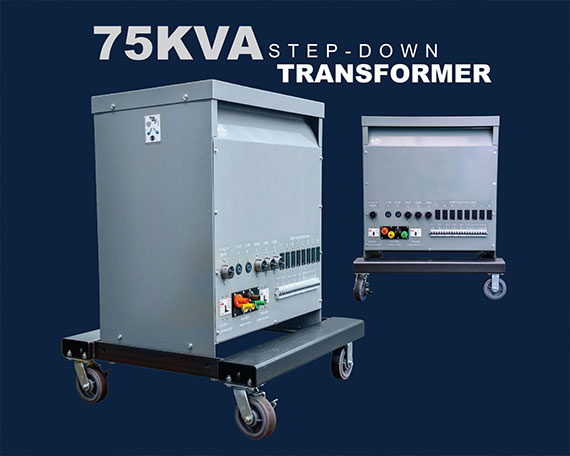 75KVA step-down transformer